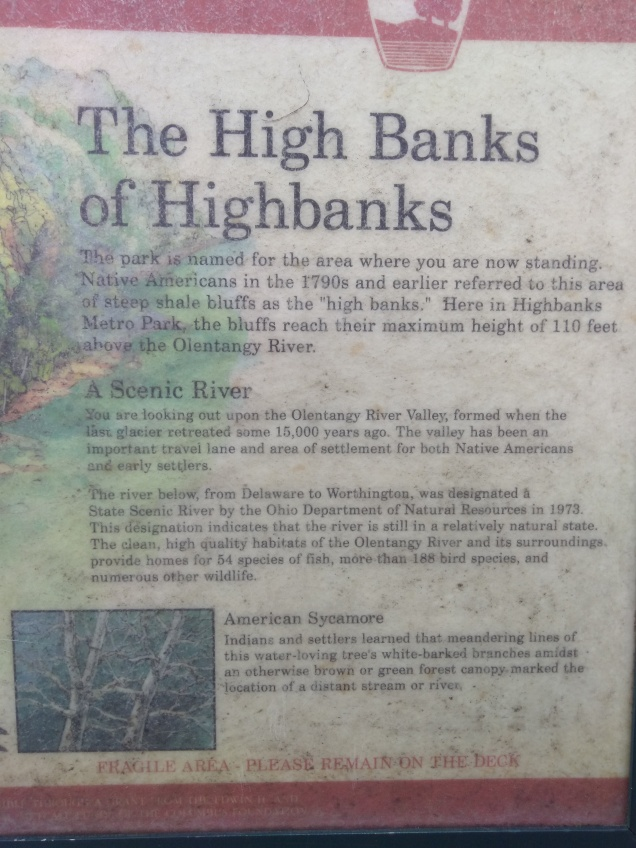 Highbanks Sign