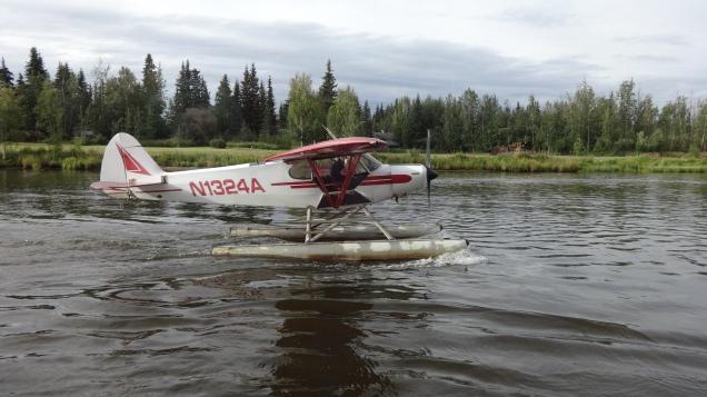 _chena river plane
